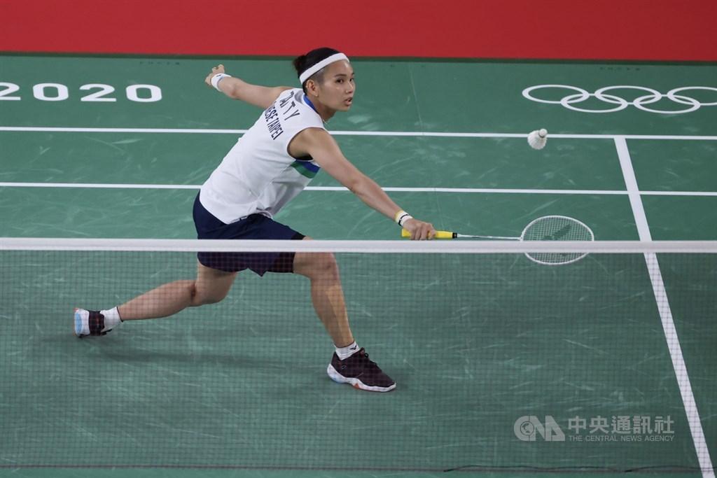 World No. 1 female badminton player Tai Tzu-ying. CNA photo July 30, 2021
