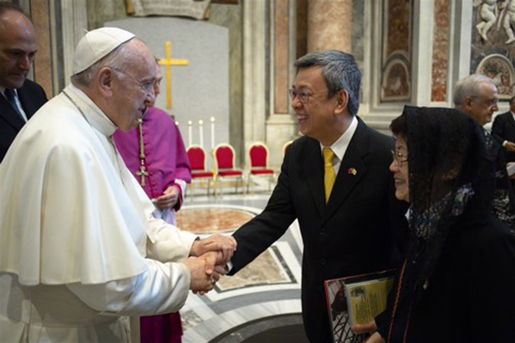 Taiwan's ex-VP named member of Pontifical Academy of Sciences