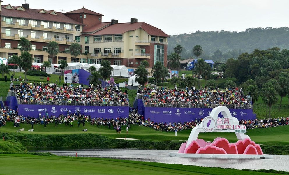 Photo courtesy of the Swinging Skirts foundation, which organizes the LPGA tournament in Taiwan