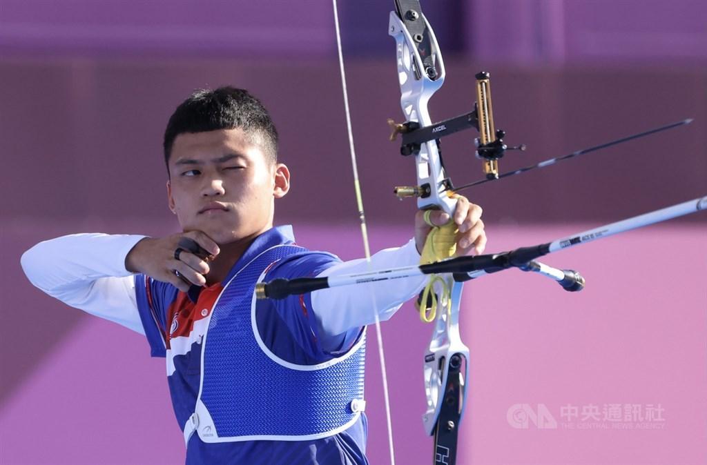 Archer Tang Chih-chun. CNA photo July 31, 2021
