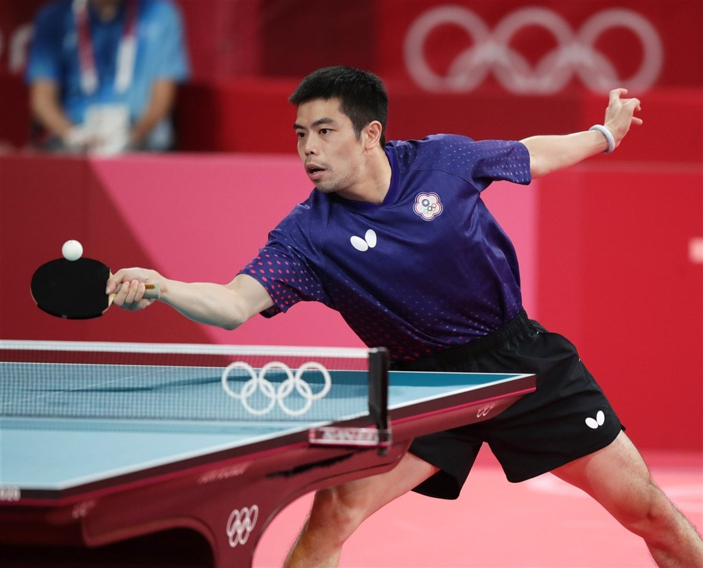 Five-time Olympian Chuang Chih-yuan. Photo courtesy of the Sports Administration