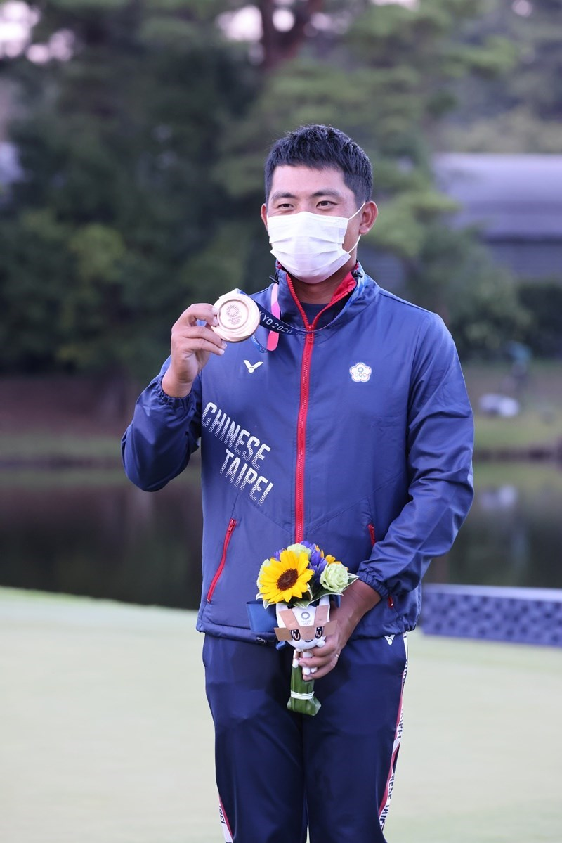 Golfer Pan Cheng-tsung. Photo courtesy of the Sports Administration