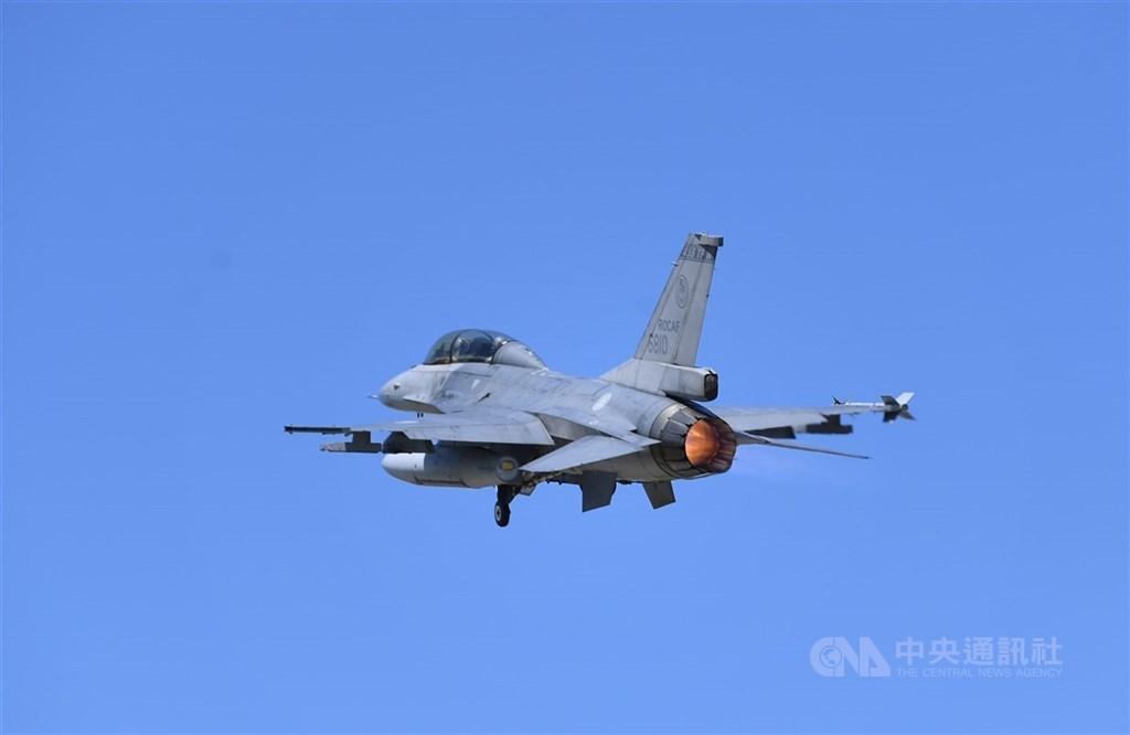 An F-16 fighter jet. CNA file photo