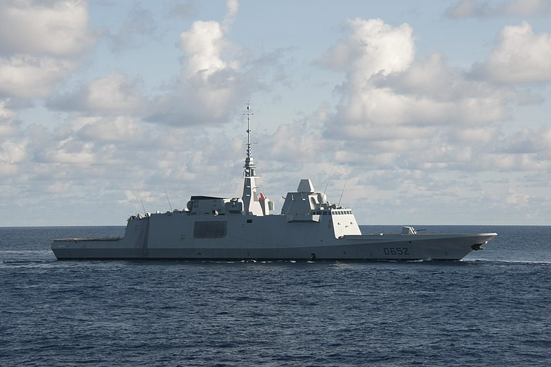 The FS Provence frigate of the French Navy. Image from Wikimedia Commons