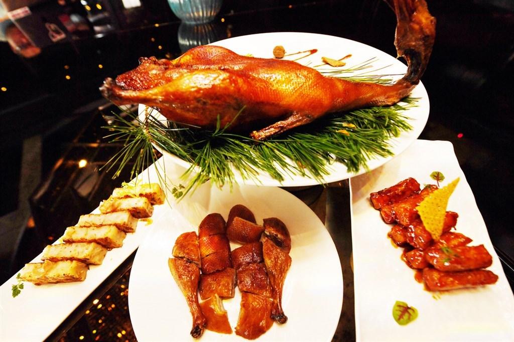 A duck dish by Cantonese restaurant Le Palais in Taipei. CNA file photo