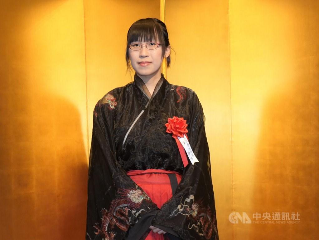 Japan-based writer Li Kotomi. CNA photo Aug. 27, 2021