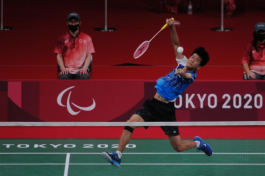 Badminton player Fang Jen-yu. Photo courtesy of the Sports Administration