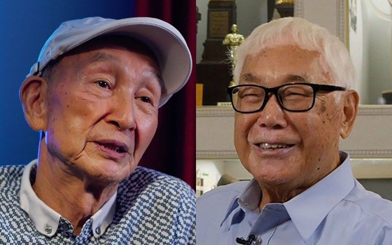 Tsai Yang-ming (left) and Lin Tsan-ting. Photo courtesy of the Taiwan Film and Audiovisual Institute