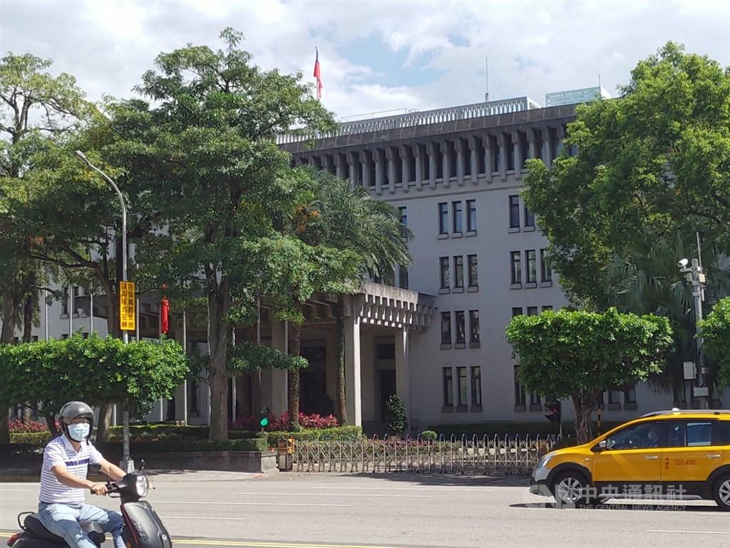 The MOFA building in Taipei. CNA file photo