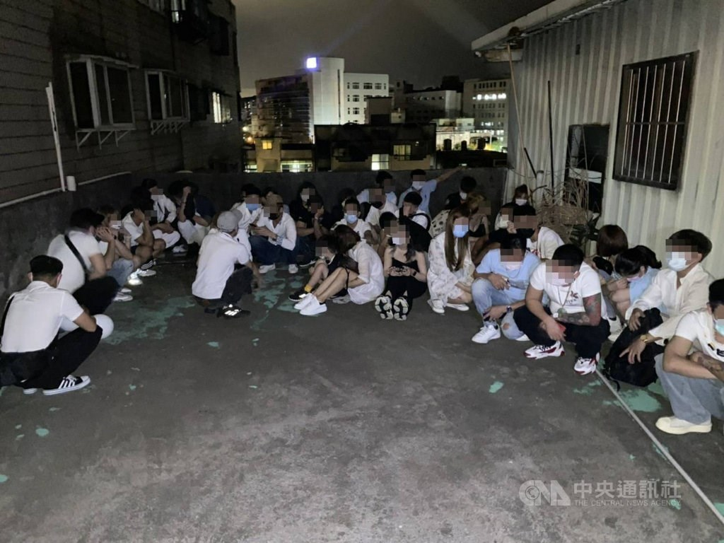 Photo courtesy of the Taoyuan police