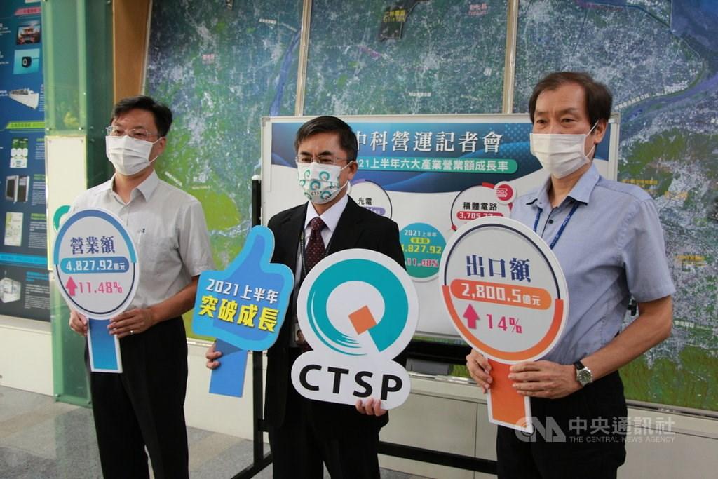 CTSP Administration Office Director-General Hsu Mao-hsin (center). CNA photo Sept. 15, 2021