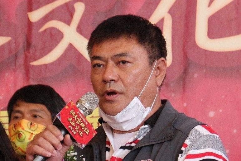 Tongxiao Township chief Chen Han-Chih (CNA file photo)