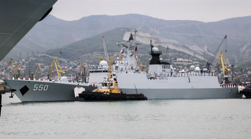 A Chinese Navy frigate. Image source: ru.mil