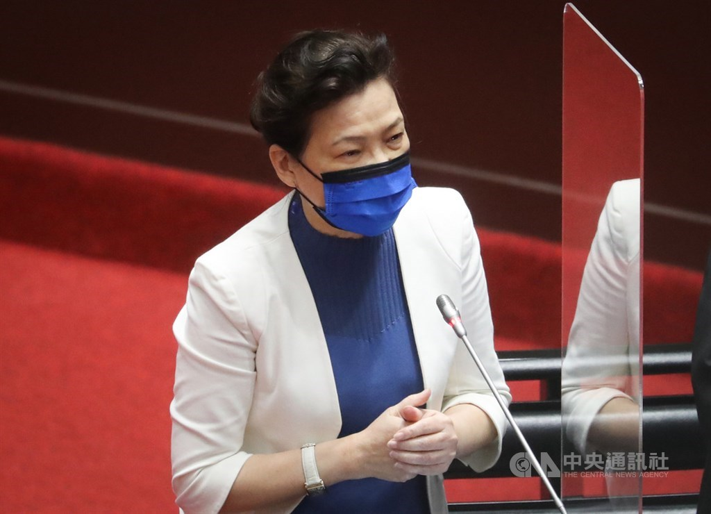 Minister of Economic Affairs Wang Mei-hua. CNA file photo