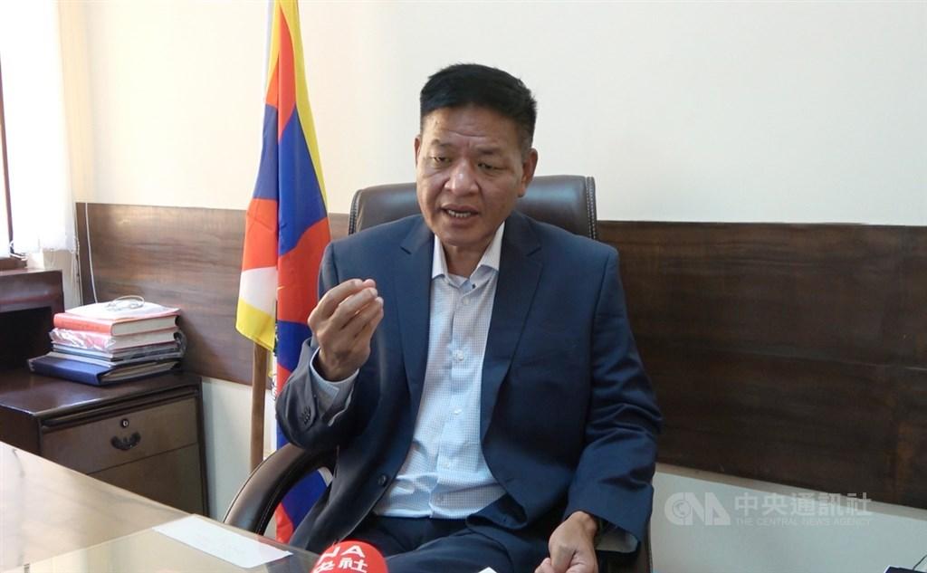 Penpa Tsering, president of the Central Tibetan Administration in India. CNA photo Oct. 6, 2021