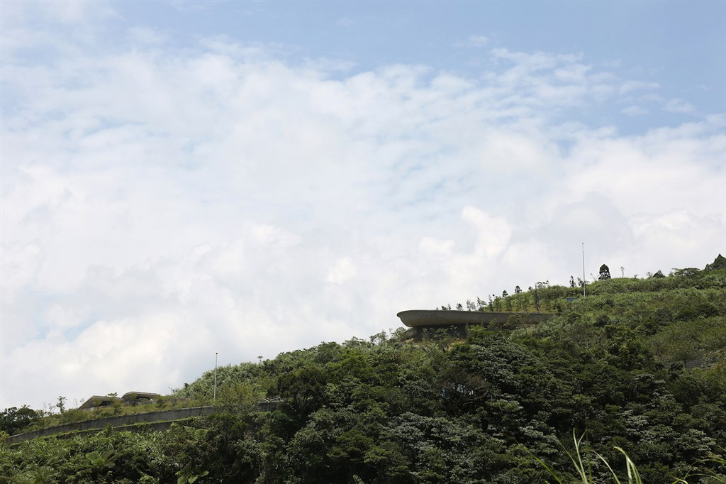 One of the works architect Huang Sheng-yuan submitted to the event -- Wei-Shui Chiang Memorial Cemetery in Yilan. File photo courtesy of Yilan County government