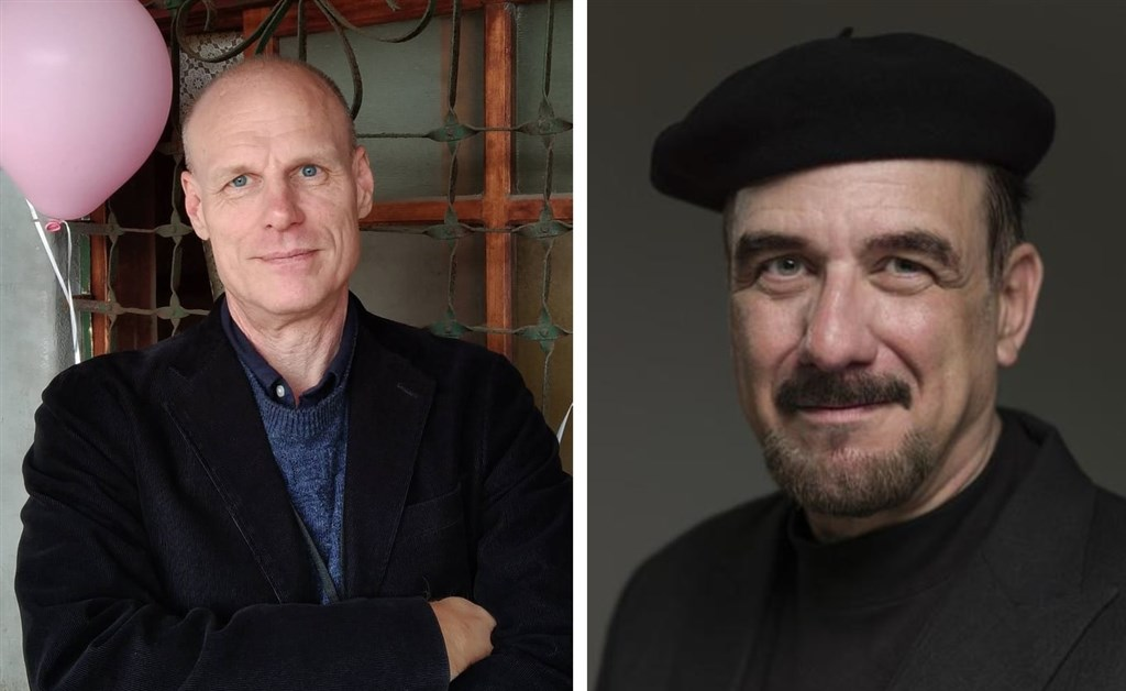 Left: Barry Hall; Right: A.T. Beaune. Photo courtesy of the respective directors