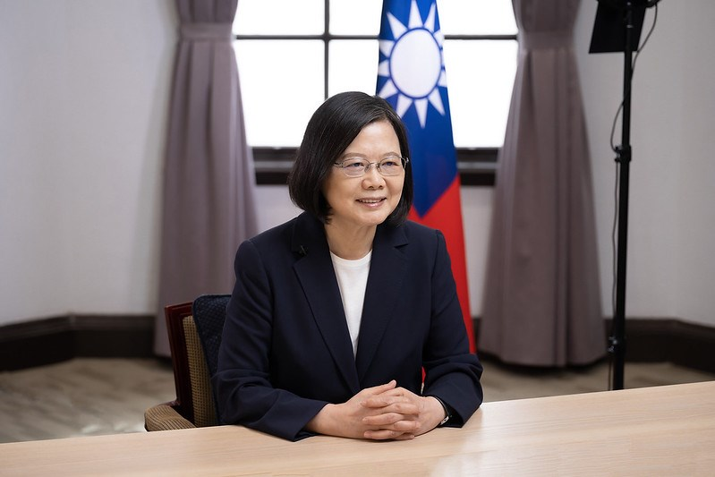 President Tsai Ing-wen (蔡英文). Photo courtesy of the Presidential Office