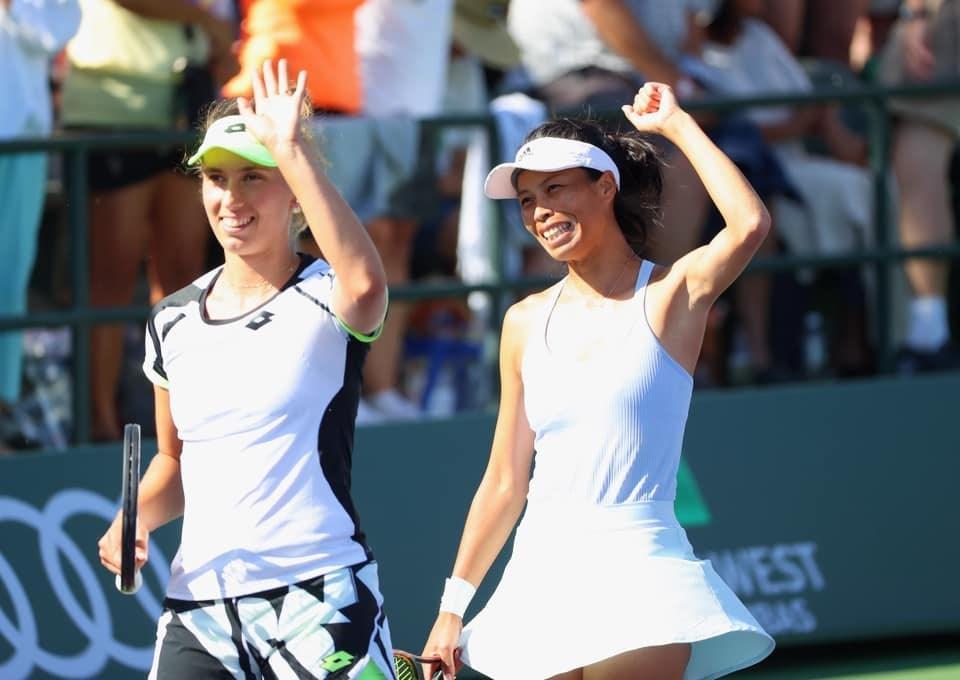 Taiwan's Hsieh, Belgium's Mertens reach Indian Wells doubles final - Focus Taiwan