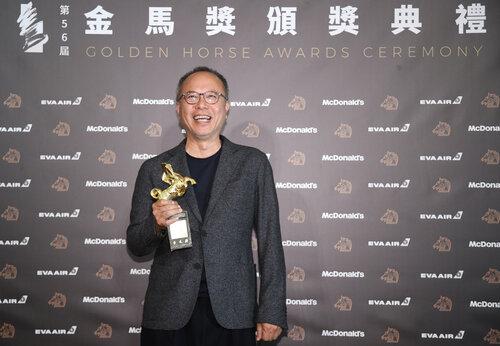 GOLDEN HORSE: Taiwanese Chung Mong-hong grabs best director award