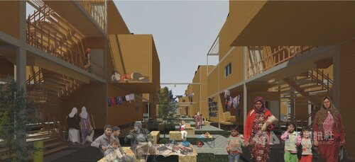 Taiwan-funded competition awards shelter idea to Syrian refugees
