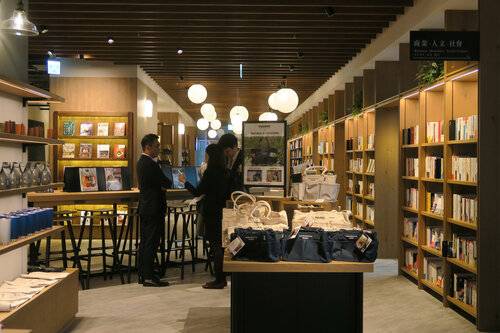 Tsutaya Bookstore from Japan opens biggest branch in Taiwan
