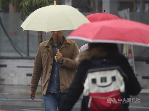 Lower temperatures for northern Taiwan to last until Friday