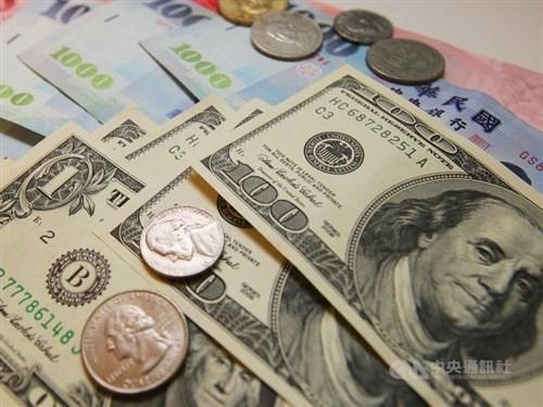 U.S. dollar closes higher on Taipei forex market