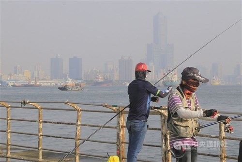 Poor air quality expected for central, southern Taiwan