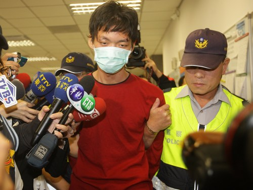 Taipei metro train attacker detained (update)