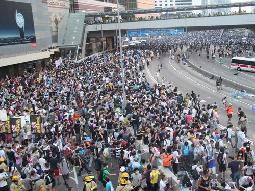 Ma urges Beijing to listen to Hong Kongers' voices
