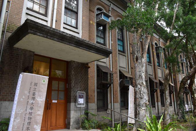 國立台灣大學植物標本室的外觀