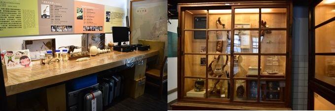 為了擴大植物學的大門,該公司還向難以參觀博物館的初中一年級學生向當地小學五年級學生租用免費材料。 展示以植物為主題的藝術品的區域(右),該區域使用一種方法將物料包裝在手提箱中,然後寄回並寄回(左)。
