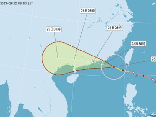 台湾、陸上・海上警報解除  台風19号ようやく過ぎ去る