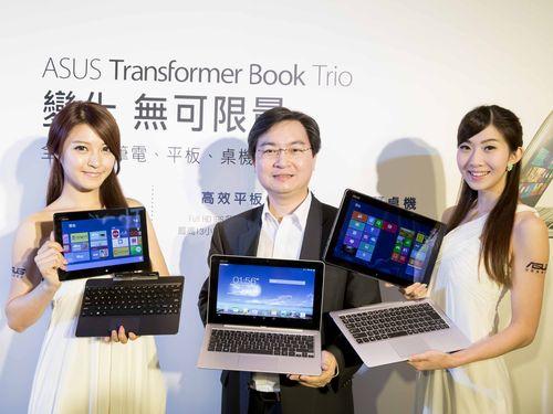 """台湾・ASUS""""トランスフォーム""""新製品  あす日本で記者会見"""