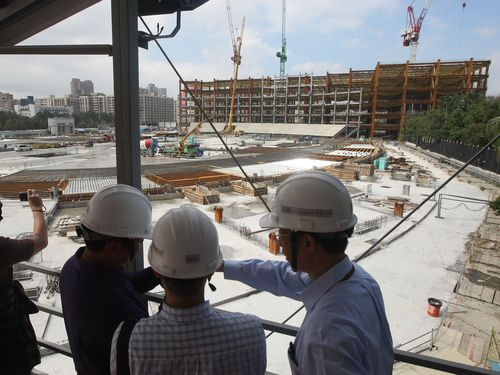 台北ドーム建設工事順調、2015年の完成目指す/台湾