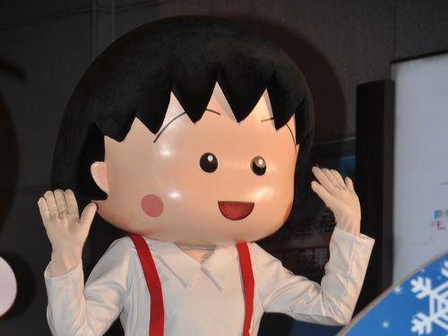 ちびまる子ちゃん、台湾のクリスマスイベントに登場