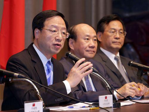 江行政院長、台湾第4原発「建設の凍結はプロジェクト中止を意味せず」
