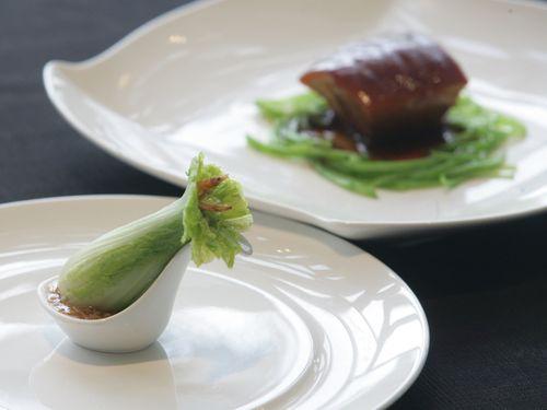 故宮の名品を料理で再現した「国宝の宴」  日本でも/台湾