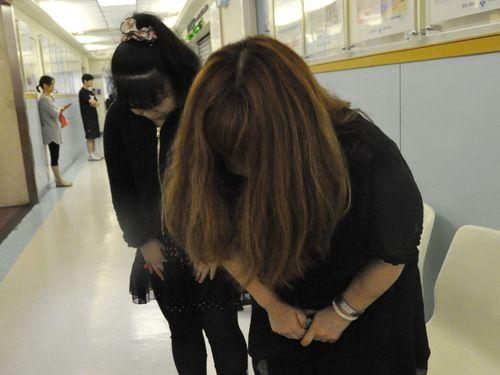 台湾の支援に深く感謝する日本人男性の家族ら