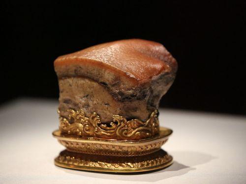九博、故宮特別展あす開幕  人気の「肉形石」は2週間の限定展示