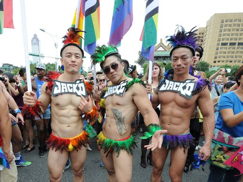 プライドパレードに6万5000人  日本からも参加者/台湾