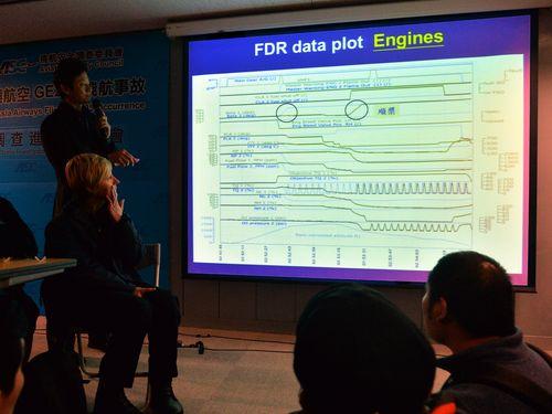 台湾機墜落:エンジン2基が不能に=ブラックボックスの解析結果