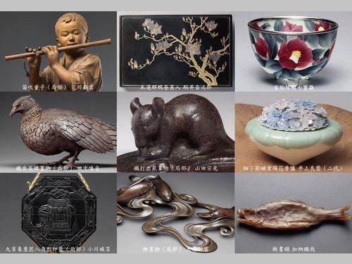 台湾50美術館の所蔵品の一部=台湾50美術館提供