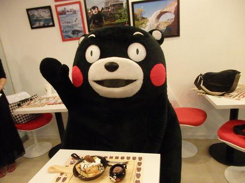 「くまモン」テーマにしたカフェ、台湾・台北にオープン  熊本をPR
