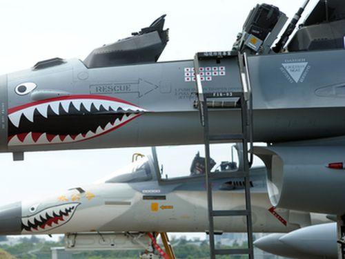 台湾、軍機に撃墜数表す「日の丸」 空軍「歴史の真実取り戻すため ...