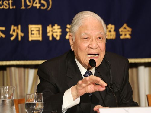 李登輝元総統の尖閣発言  国民党内から批判の声高まる/台湾