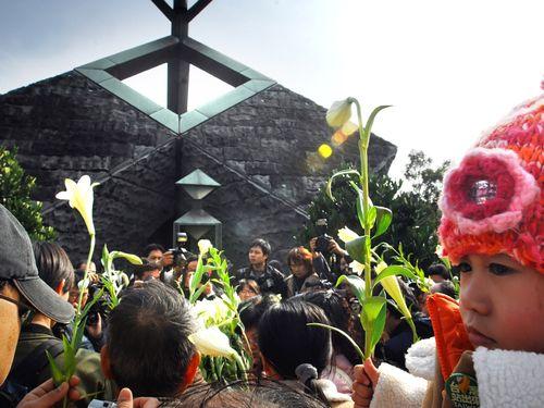 台北市内にある二二八和平記念碑