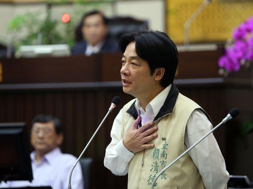 野党ホープの台南市長、議会で「台湾独立」主張  波紋呼ぶ