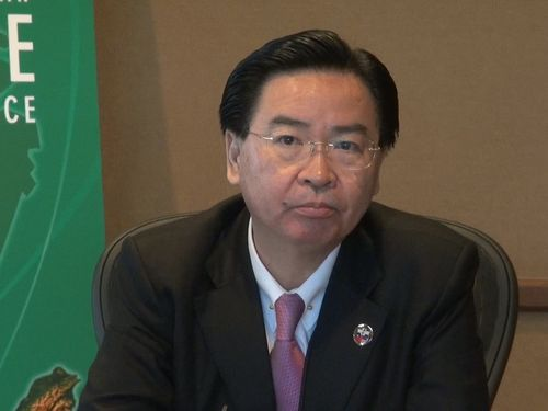 民進党の呉ショウ燮秘書長